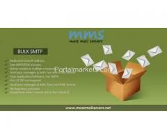 Bulk SMTP server & email marketing services
