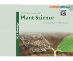 Plant Science Conferences 2018