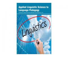 Applied Linguistic Science to Language Pedagogy
