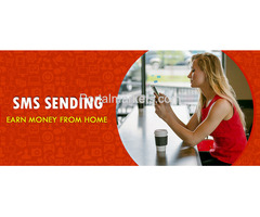 Earn Rs 15000 pm by sending sms from your mobile