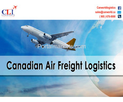 Aircraft charters Logistics in Canada