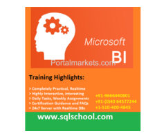 SQL Business Intelligence Real Time Online Training @ SQL School