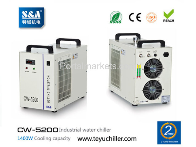 S&A laser air cooled chiller CW-5200 manufacturer/supplier - 1/3