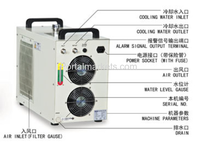 S&A laser air cooled chiller CW-5200 manufacturer/supplier - 2/3