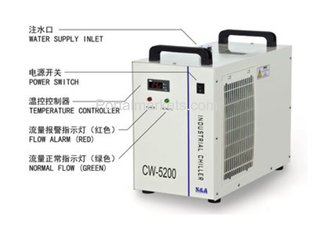 S&A laser air cooled chiller CW-5200 manufacturer/supplier - 3/3