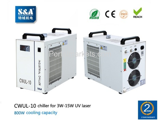 S&A air cooled water chiller CWUL-10 for 3W-15W UV laser - 1/1