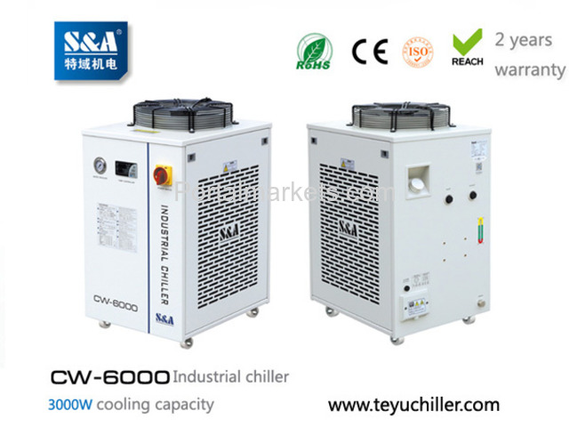 S&A recirculating water chiller CW-6000 AC220/110V, 50/60Hz - 1/3
