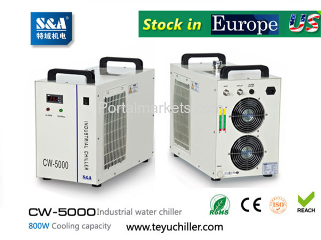 S&A industrial water chiller CW-5000 manufacturer for co2 laser - 1/3