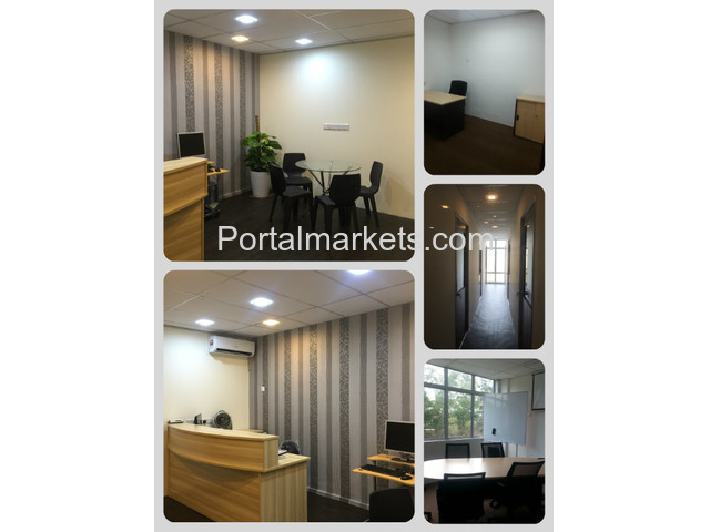 FULLY FURNISHED SERVICED OFFICE - 1/2