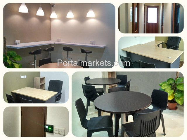 FULLY FURNISHED SERVICED OFFICE - 2/2