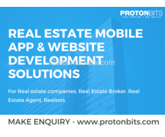 Contact ProtonBits for Real Estate Website Development Solutions