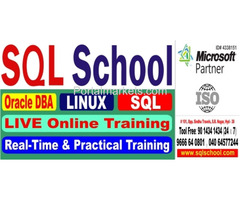 Real-time and Practical LIVE Online Training on Oracle Admin @ SQL School Training Institute