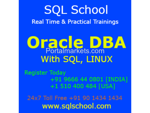 Real-time and Practical LIVE Online Training on Oracle Admin @ SQL School Training Institute - 2/2