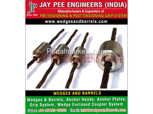 Wedges and Barrels Manufacturers Suppliers Exporters in India - 2/4