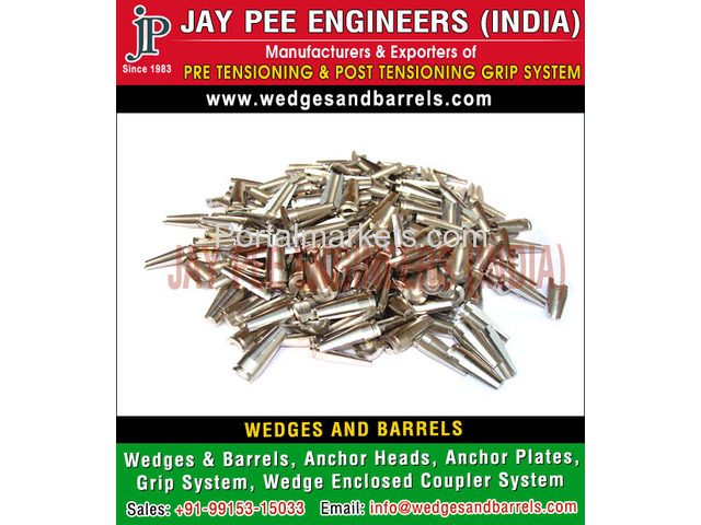 Wedges and Barrels Manufacturers Suppliers Exporters in India - 3/4