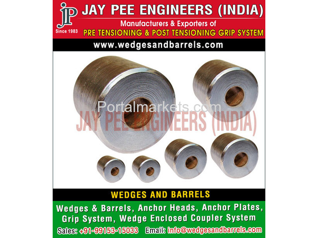 Barrels and wedges Manufacturers Suppliers Exporters in India - 1/4