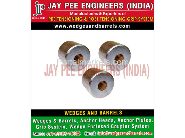 Barrels and wedges Manufacturers Suppliers Exporters in India - 3/4
