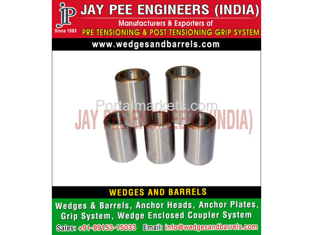 Barrels and wedges Manufacturers Suppliers Exporters in India - 4/4