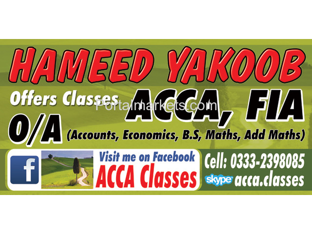 Accounting(ONLINE) Training(WhatsApp  +923332398085) (Skype: acca.classes) - 1/1