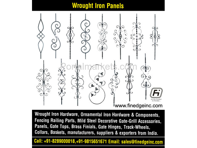decorative metal fencing panels and accessories manufacturers exporters suppliers India - 4/4