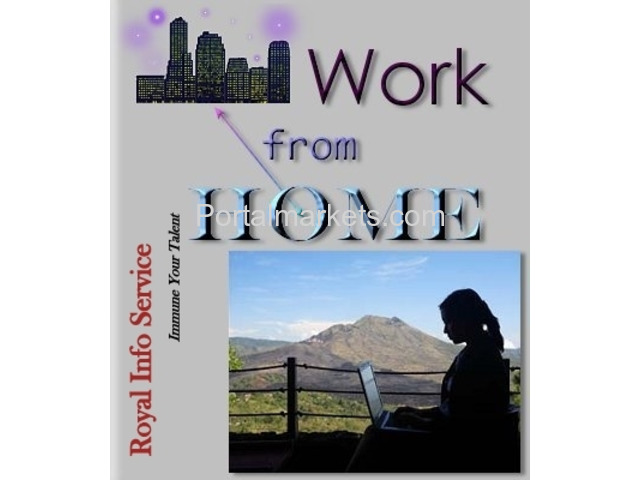 Work at Home Job Offered - 1/1