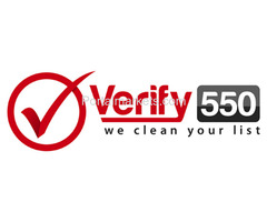 Email Validation and Verification Services - Verify550