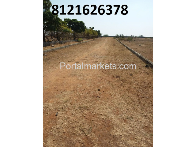 Commercial plot for sale in DTCP Layout near IT Park Maheswaram - 2/3