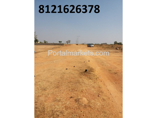 Commercial plot for sale in DTCP Layout near IT Park Maheswaram - 3/3